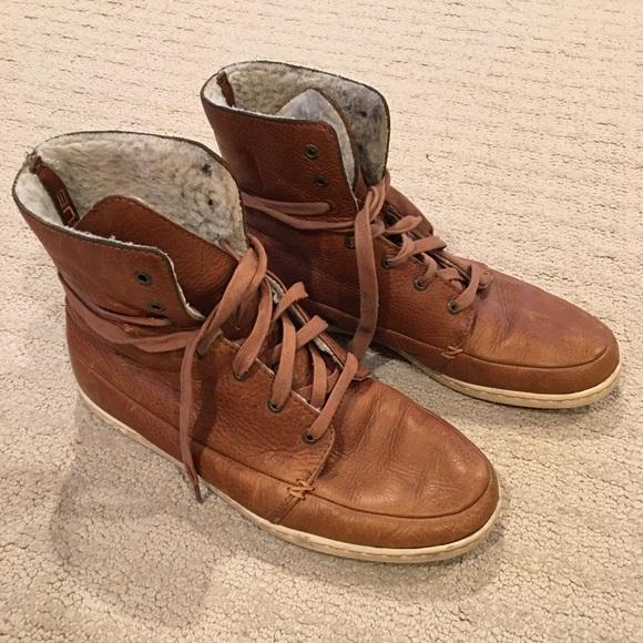 HUB Shoes | Hub Mens Leather Sneaker